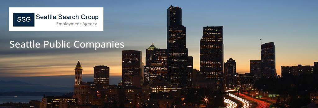 Seattle Public Companies - Seattle Search Group