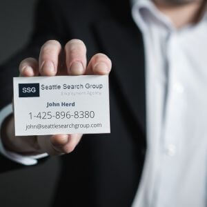 Business Card - Seattle Search Group